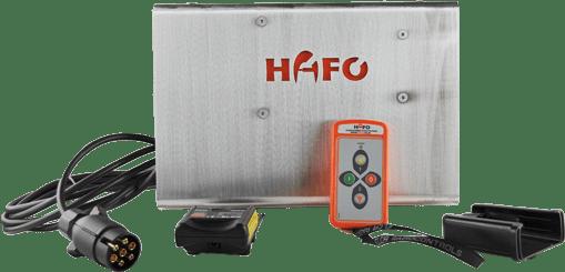 Funkboxset zur bequemen Steuerung der HAFO Forstwinden.