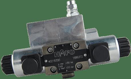 Hydraulikblock zur Energieversorgung der HAFO Hilfswinde